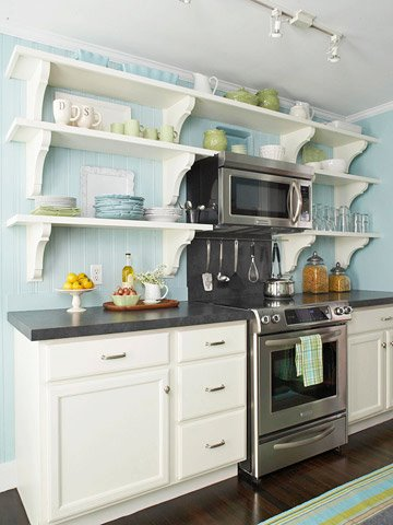 Kitchens With Open Shelves