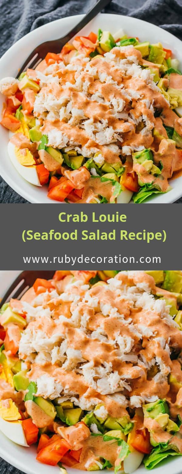 Crab Louie (Seafood Salad Recipe)