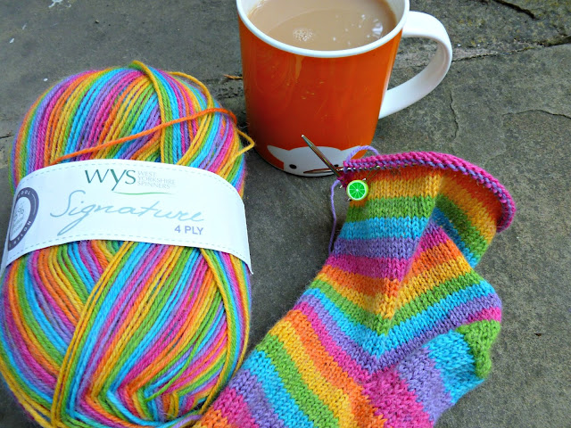 West Yorkshire Spinners Rum Paradise yarn