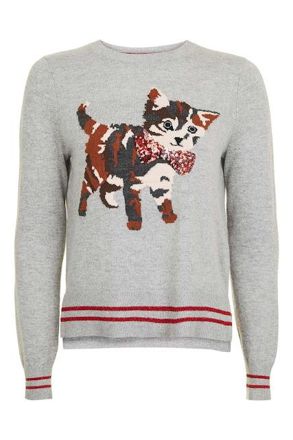 kitten sequin jumper, cat sequin jumper,