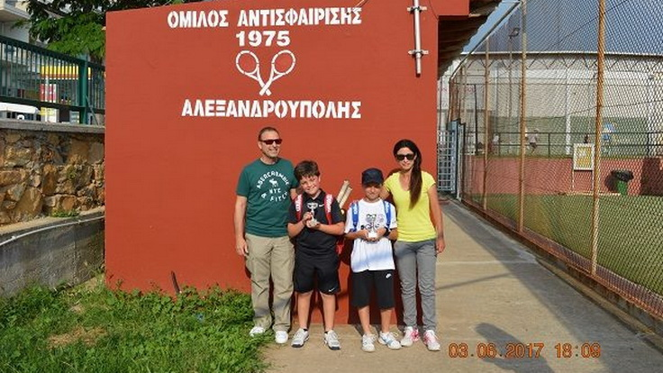 Αλεξανδρούπολη: Με επιτυχία το 3ο Τουρνουά Τένις Πράσινου Επιπέδου Αν. Μακεδονίας & Θράκης