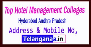 Top Hotel Management Colleges in Hyderabad Andhra Pradesh