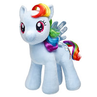 Rainbow Dash My Little Pony the Movie Build-a-Bear Plush