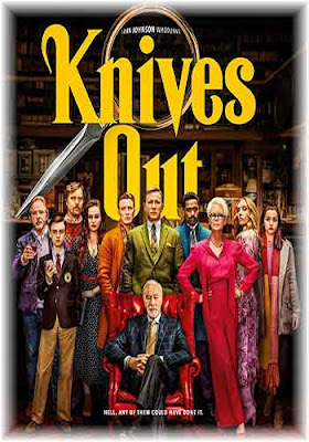 Knives Out 2019 720p WEBRip x264   480p 300MB Poster