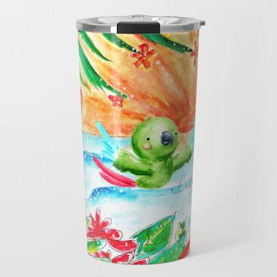 aloha rio travel mug