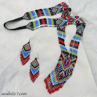 купить гердан гайтан, этнические украшения из бисера