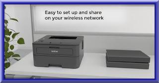 Brother HL-L2340DW Wireless Printer Setup