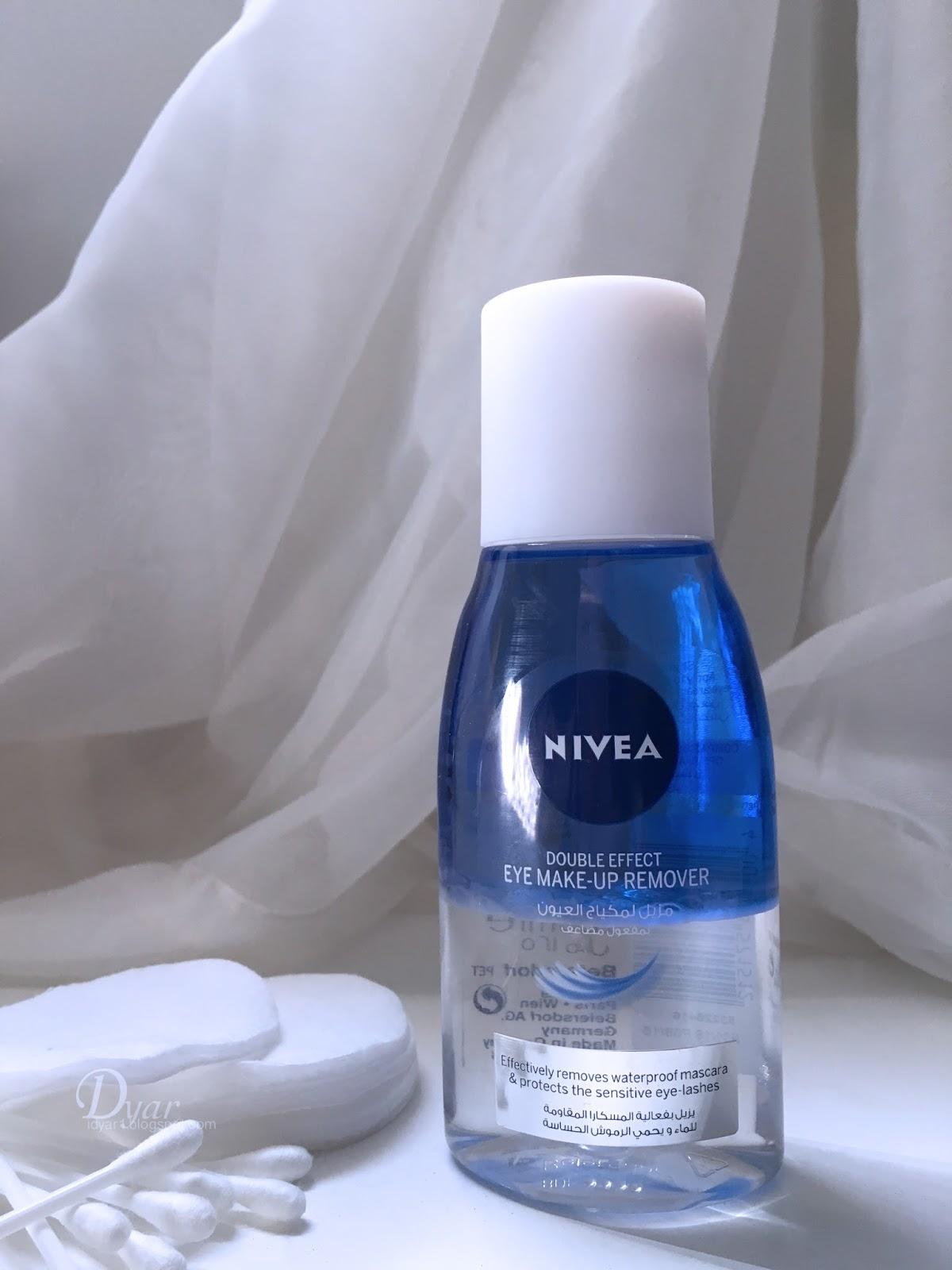 Nivea Eyes Makeup Remover Dyars Blog