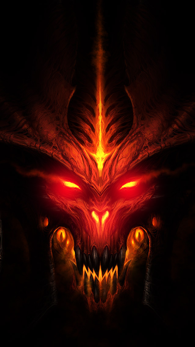 Diablo 3 Wallpaper [iPhone 5] ~ iPhone Wallpaper