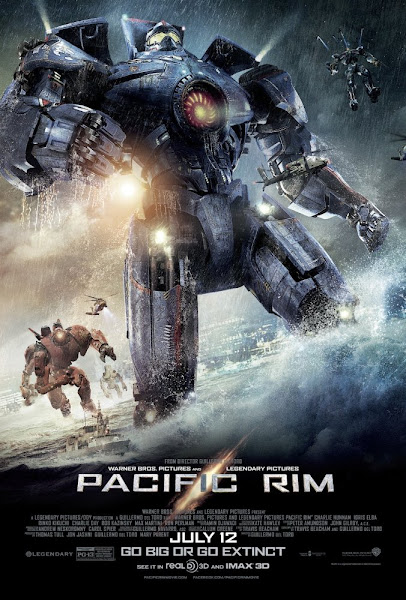 Poster of Pacific Rim 2013 Dual Audio [Hindi+English] 720p BluRay ESubs Download