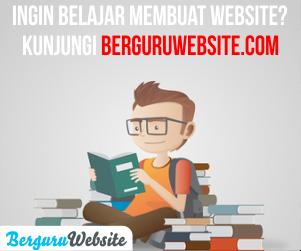 Berguru Website.com - Belajar Website Mudah Dan Cepat