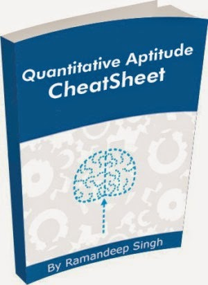 Quantitative Aptitude Cheatsheet