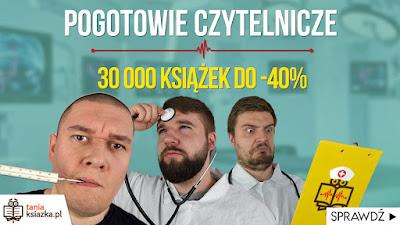 http://www.taniaksiazka.pl/PogotowieCzytelnicze?utm_source=blogi&utm_medium=link&utm_campaign=pogotowie_czytelnicze