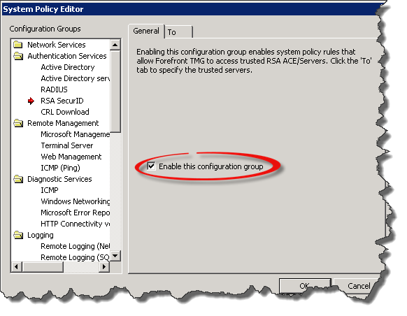 [TMG] Publish Outlook Web App with RSA SecurID