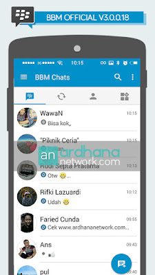 BBM Official V3.0.0.18