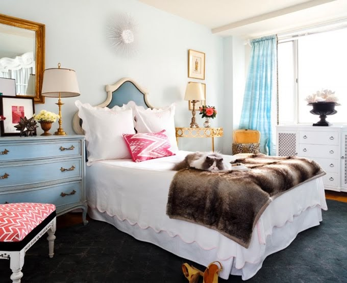 Frou Frou Maison Bedding And Nightstand Inspiration