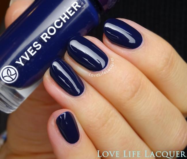 Yves Rocher Bleu Pensée swatch review