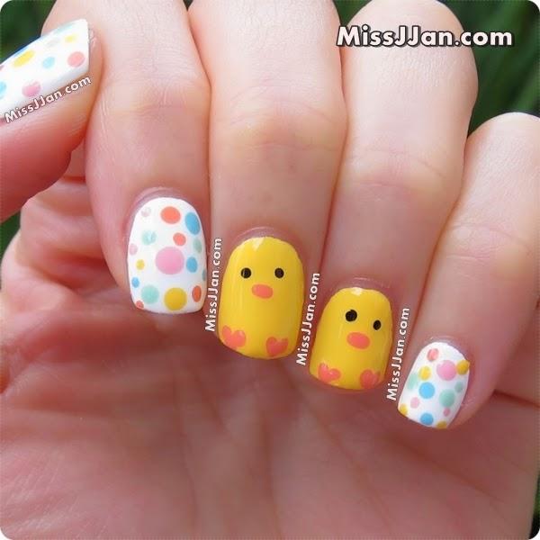 MissJJan's Beauty Blog ♥: {Tutorial} Easter Baby Chick