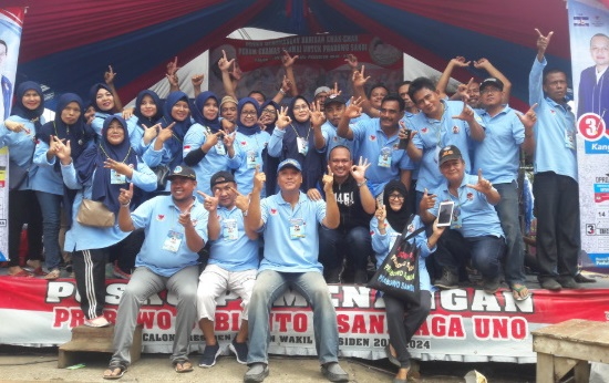 Relawan PAS EKAMAS Karawang Optimis Prabowo Sandi Raih 70 Persen Suara di Jabar
