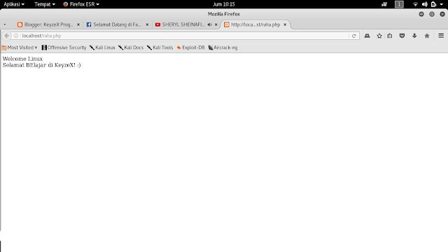 Cara Install XAMPP Web Server pada Kali Linux