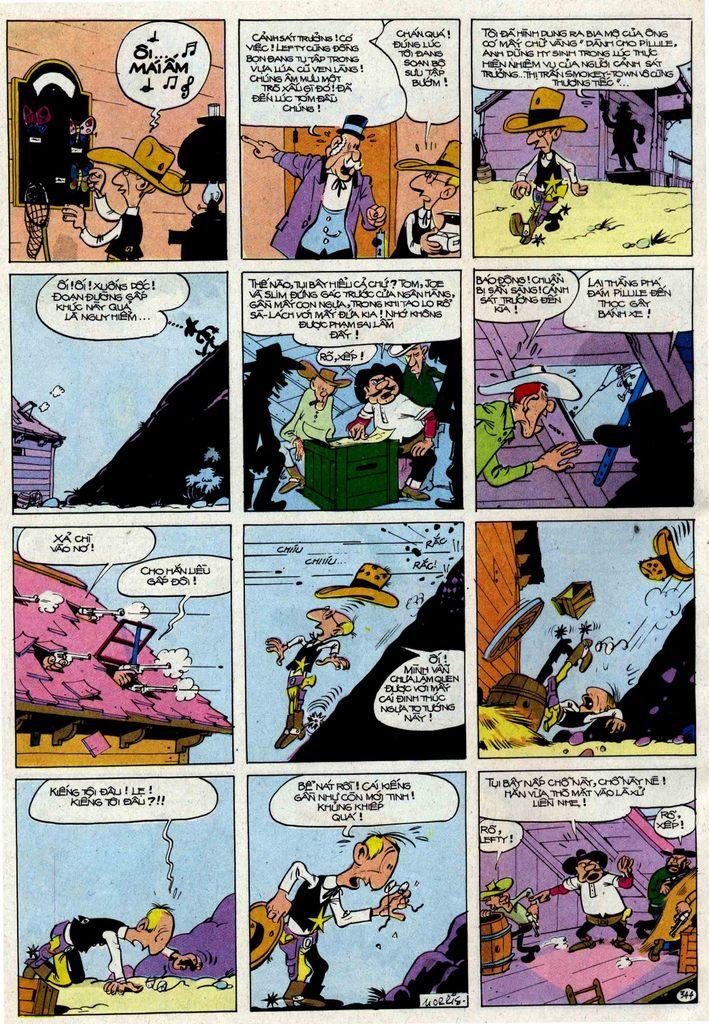 Lucky Luke tập 25 - nhện chân dài trang 44