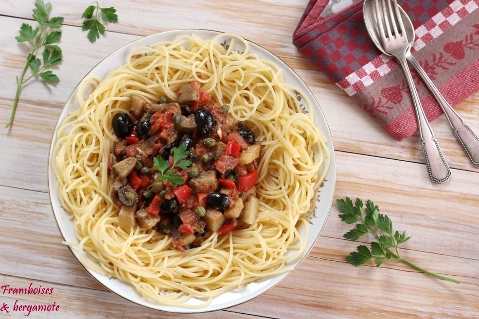Avec quoi accompagner spaghetti
