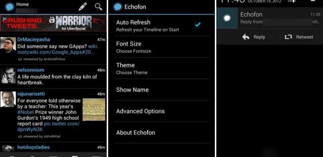 Apps Echofon