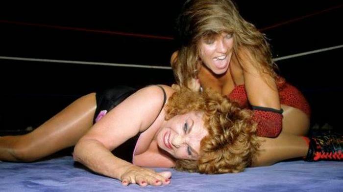Wendi Richter - Female Wrestling - WWF-wrestling