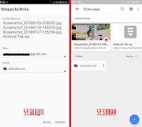 Cara Menyimpan File ke Google Drive