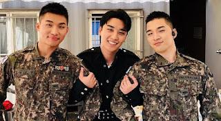 Seungri, Taeyang dan Daesung Big Bang - Foto: Twitter @Allkpop