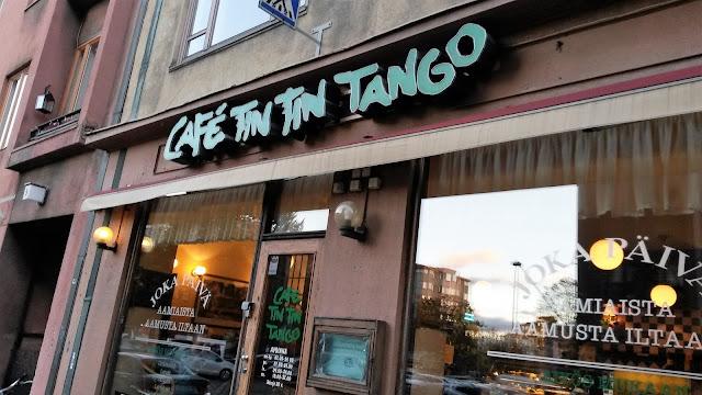 Kahvila Helsinki Töölö Cafe Tin Tin Tango