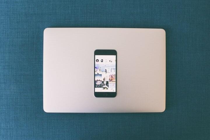 Mac dan iPhone 7 Plus