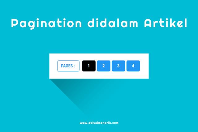Cara Membuat Pagination Dengan Fungsi Refresh di Postingan Blog
