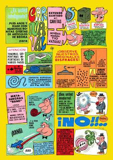 Mortadelo Extra de Carnaval 1971
