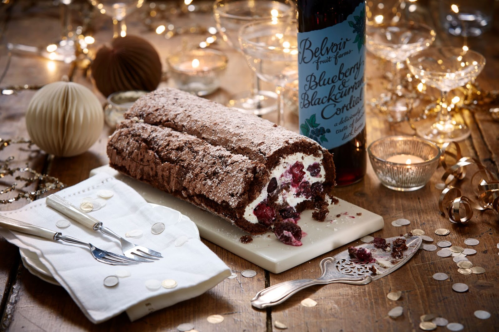 How To Make A Black Forest Gateau Roulade