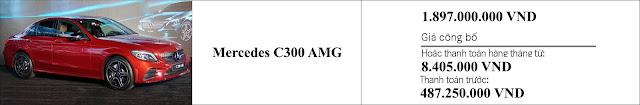 Giá xe Mercedes C300 AMG 2019
