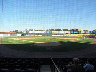 Home to center, Regency Furniture Stadium
