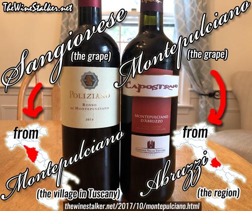 The Dueling Montepulcianos: Vino Nobile vs d'Abruzzo