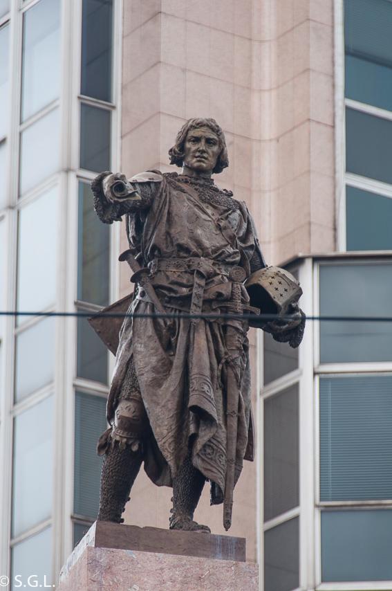 Estatua Don Diego López de Haro. Bilbao