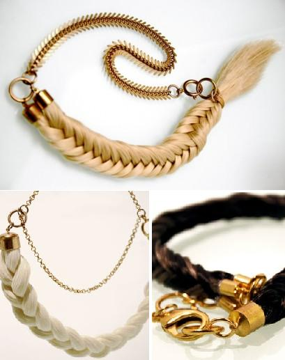 Unusual Designs and Products Created with Hair (15) 12