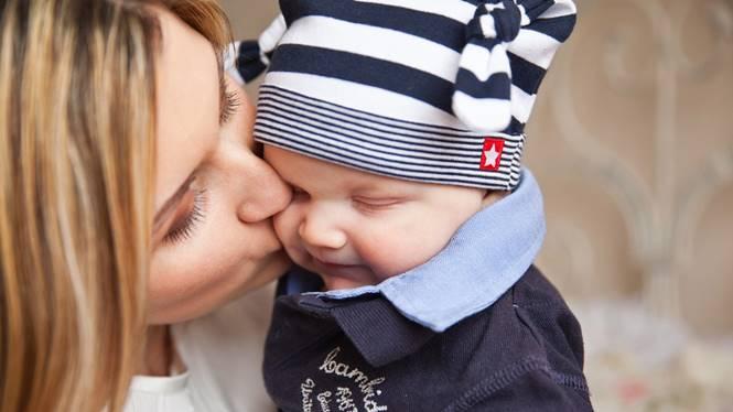 kasih sayang ibu kepada bayi
