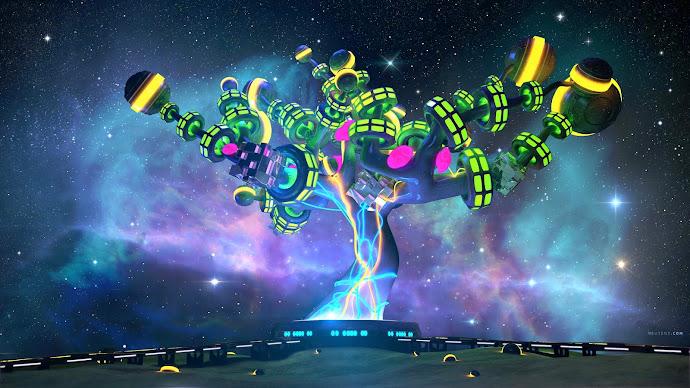 Wallpaper: N-Nebula Digital Creation