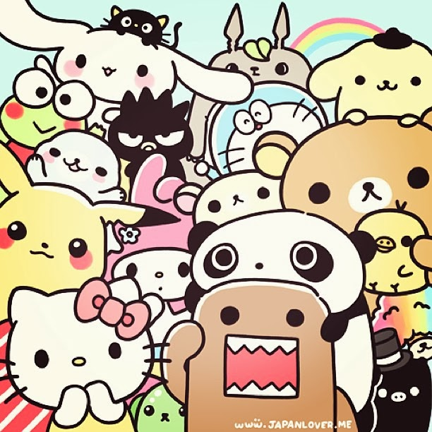 Japan makes cute characters cute japanese characters - Cute asian cartoon wallpaper ...
