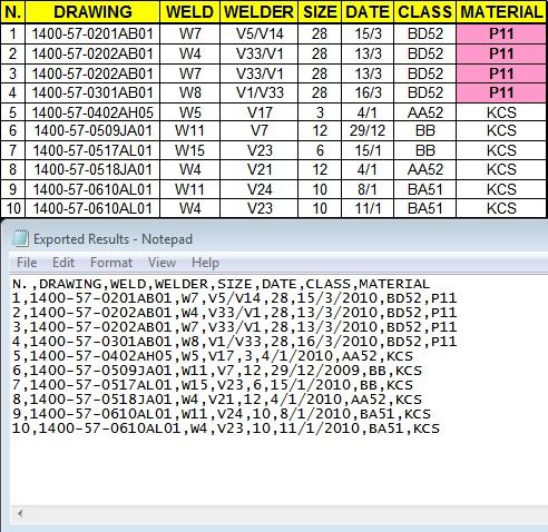 Import & Export CSV Files