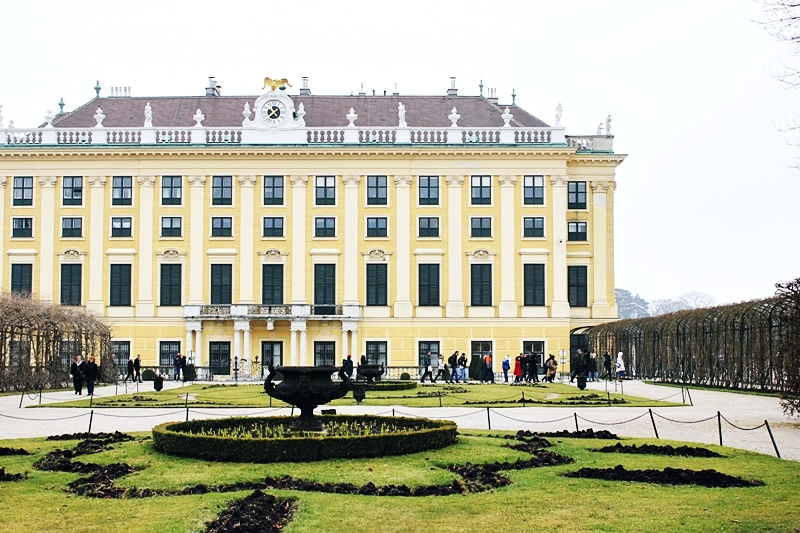 Schönbrunn Palace most visited Vienna tourist destination