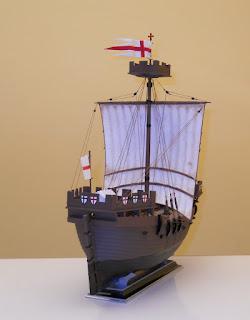 medieval crusader ship