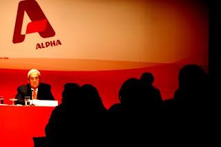 Alpha: Ψευδή τα δημοσιεύματα περί δέσμευσης λογαριασμών