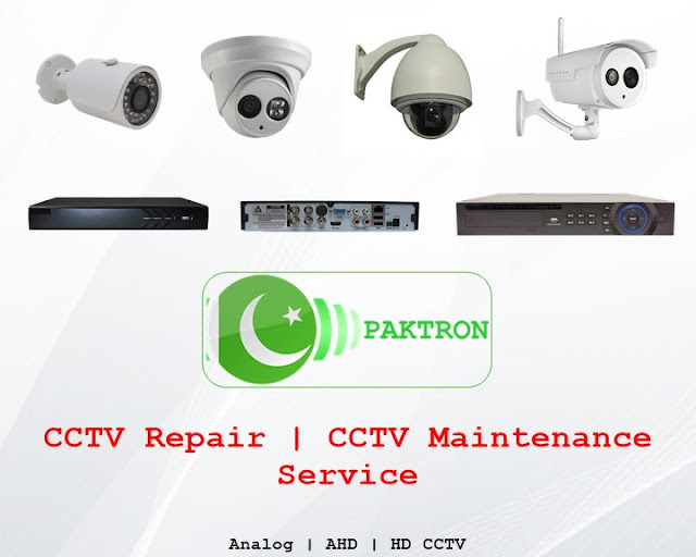 CCTV Repairing in Pakistan