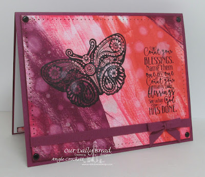 ODBD Boho Blessings Card Designer Angie Crockett