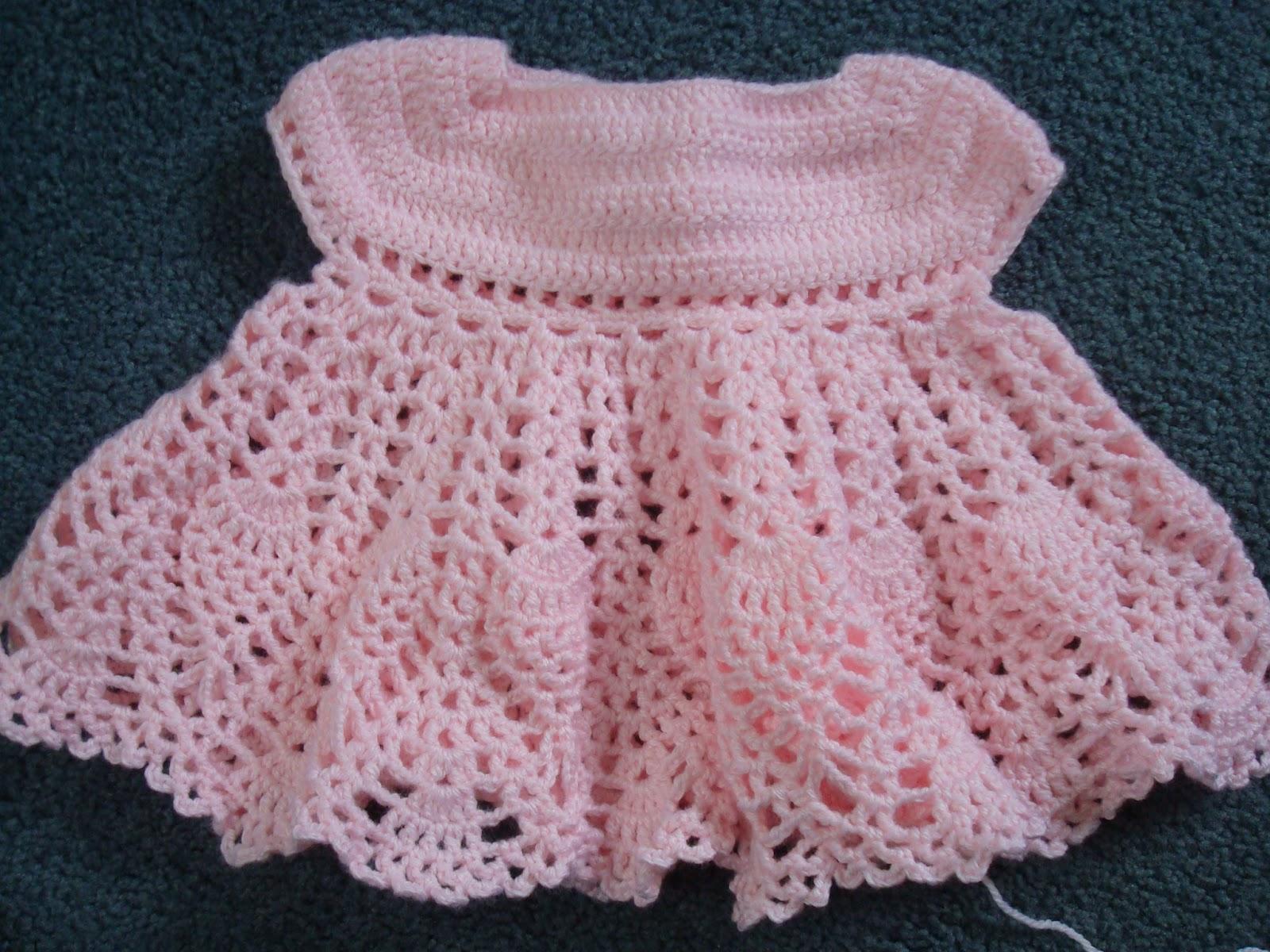 Adrialys Handmade Creations Update Crochet Baby Dress